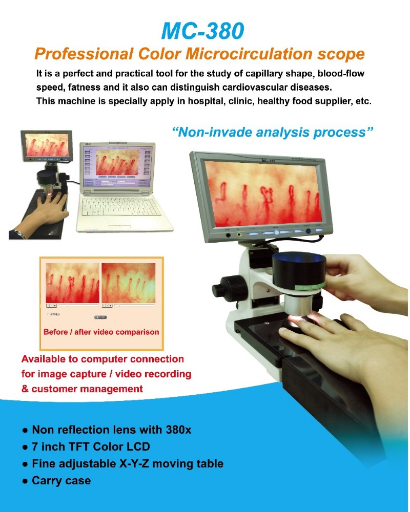 Professional Microcirculation Scope (All-in-one), MC-380